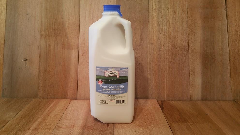 1/2 Gallon Raw GOAT MILK
