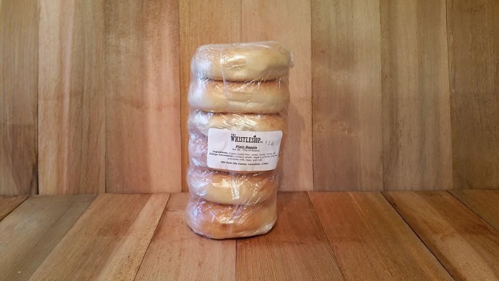 Plain Sourdough Bagels