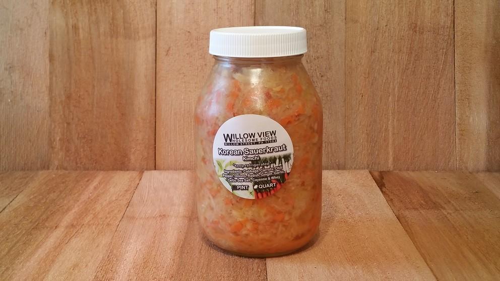 Qt Fermented Kimchi (Korean Sauerkraut)