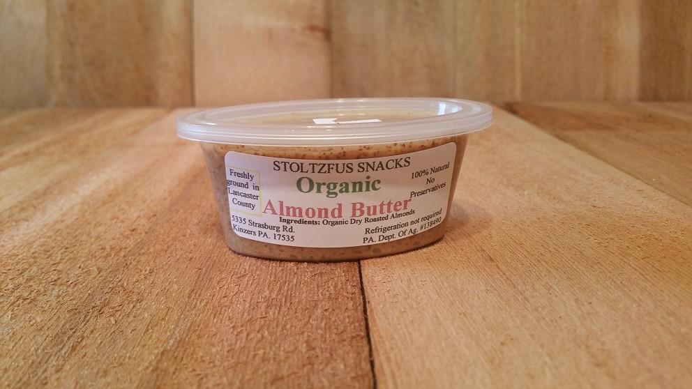 Organic Almond Butter - 3oz