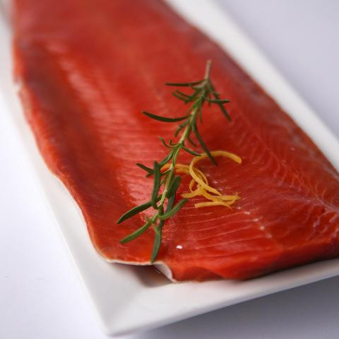 Whole Sockeye Salmon Filet