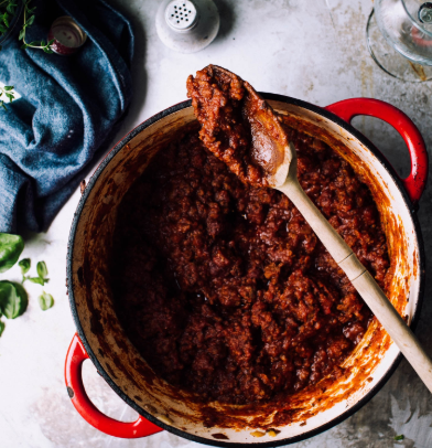 Slow Cooker Beef and 3 Bean Chili