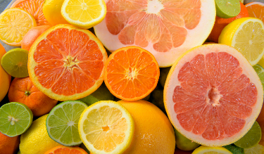 Organic Citrus Fruits