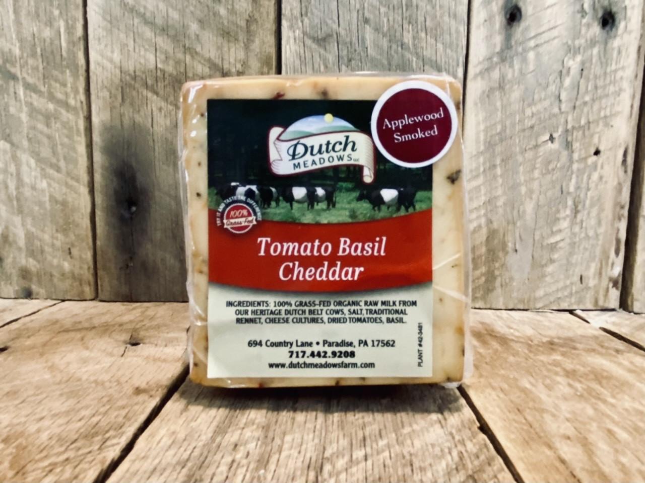 8 oz Smoked Tomato Basil Cheddar