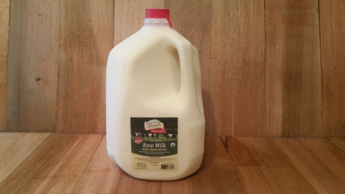 1 Gallon Organic Raw Milk