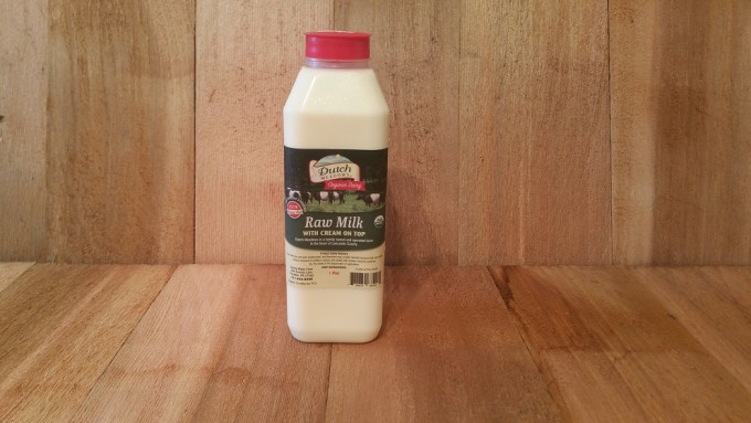 Pint Organic Raw Milk