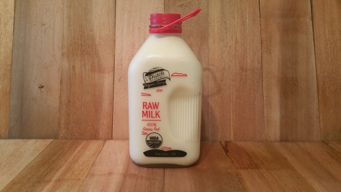 1/2 Gallon Organic Raw Milk (Glass)