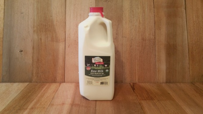 1/2 Gallon Organic Raw Milk (A2A2)
