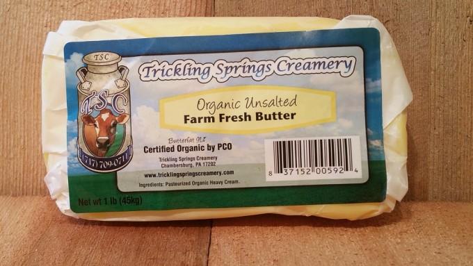 1 lb. Organic Unsalted Butter