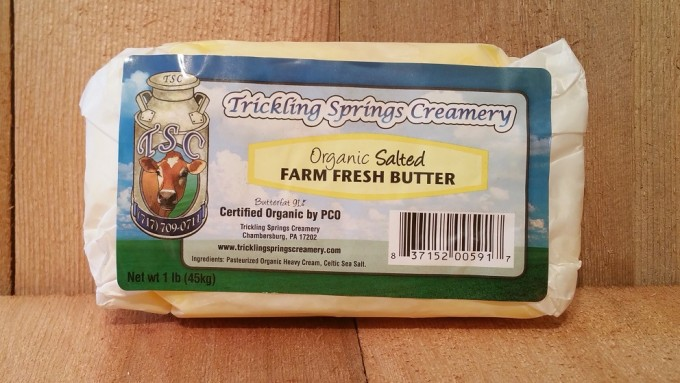 1 lb. Organic  Salted Butter