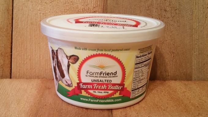 1 lb Unsalted Butter (farm friend)