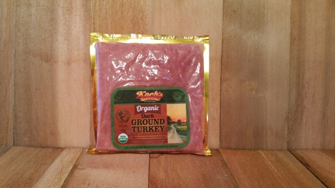 Organic Ground Turkey (Dark)