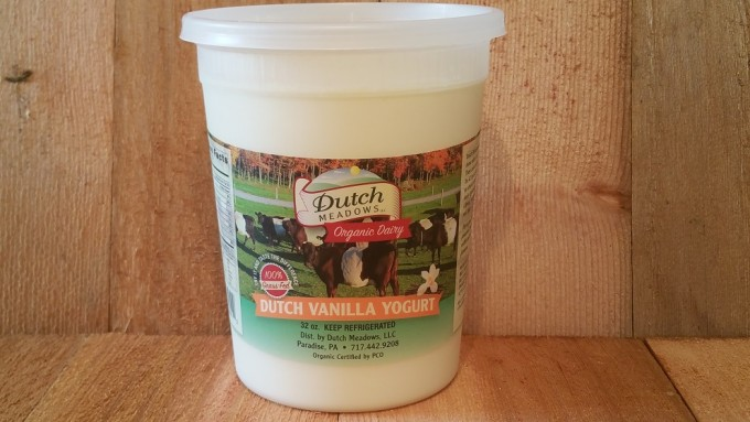 Quart Vanilla Yogurt (Pasteurized)