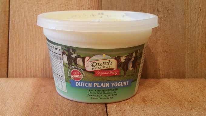 Pint Plain Yogurt (Pasteurized)