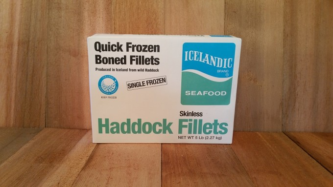 5lb Icelandic Haddock Filet Bundle