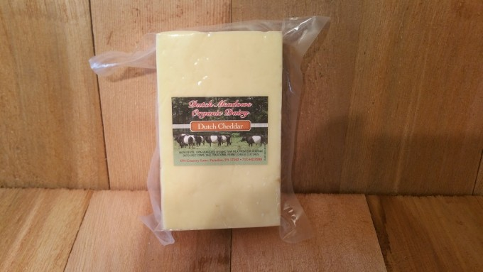 1 lb. Dutch Cheddar Cheese