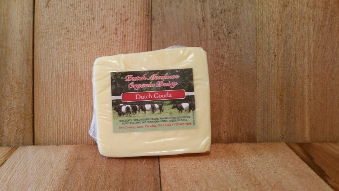 8 oz. Dutch Gouda Cheese