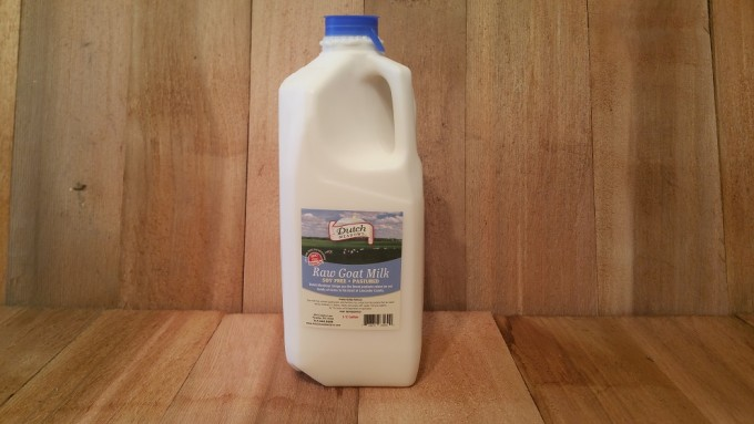 1/2 Gallon Raw GOAT MILK