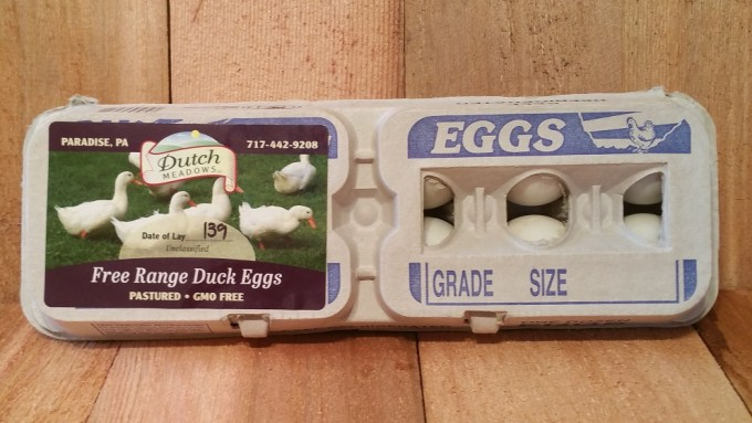 Dozen Duck Eggs
