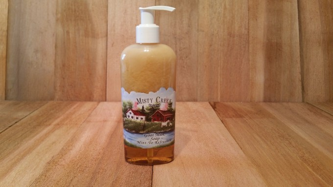 Refreshing Mint Liquid Soap 8-oz