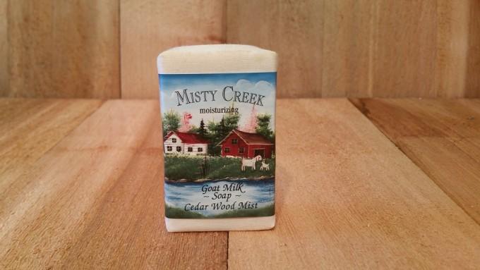 Cedarwood Mist Soap Bar