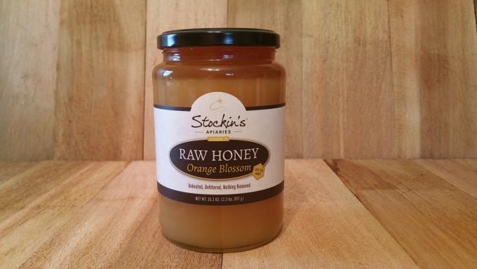 Raw Orange Blossom Honey