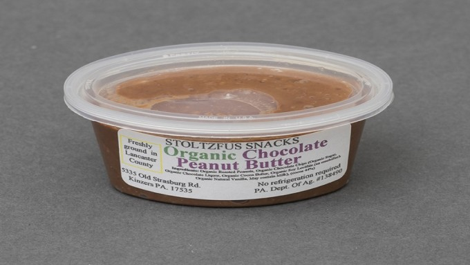 Organic Chocolate Peanut Butter - 3oz