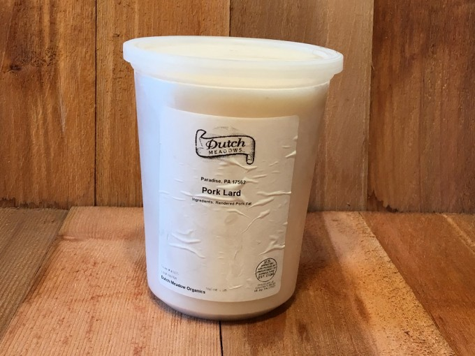 Quart Pork Lard