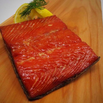 Traditional Smoked Salmon Portion