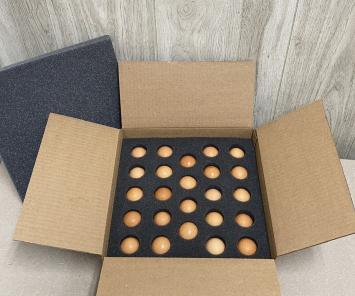 2 Dozen - Ship Ready Large Brown Eggs (CORN & SOY FREE)
