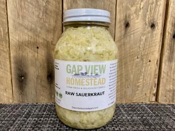 Quart Fermented Sauerkraut