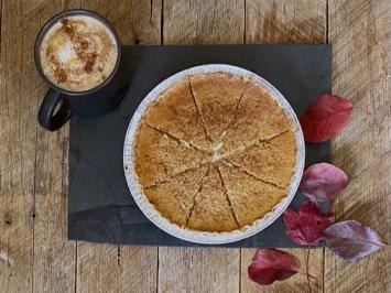 Spelt Pumpkin Custard Pie