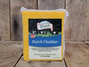 1 lb. Dutch Yellow Cheddar Cheese