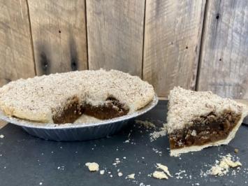 Spelt Shoo-fly Pie