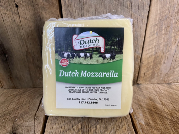 1 lb. Dutch Mozzarella Cheese (A2A2)
