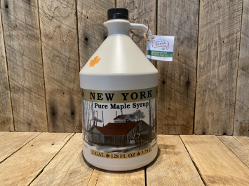 Gallon Organic Maple Syrup - Grade A