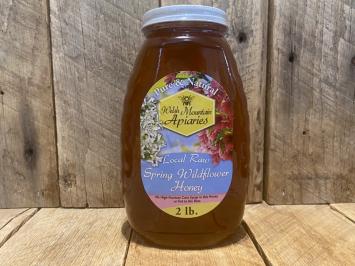 2 lb. Raw Spring Wildflower Honey
