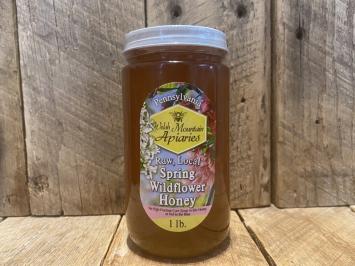 1 lb. Raw Spring Wildflower Honey
