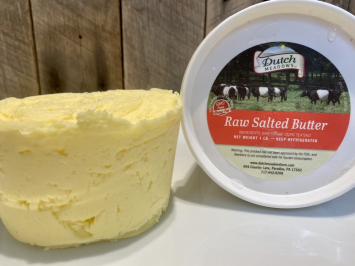 1 lb. Raw Salted Butter
