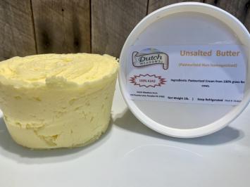 1lb. Unsalted Butter (A2A2)
