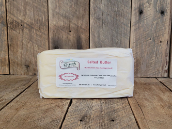 2lb. Salted Butter