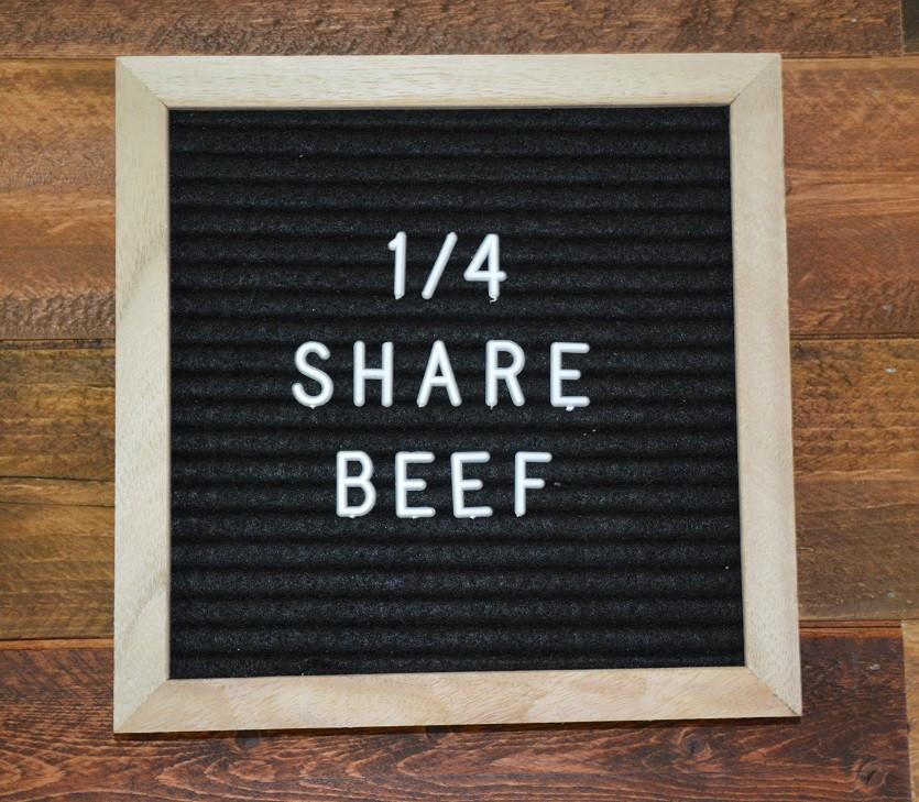 Deposit on a 1/4 Beef