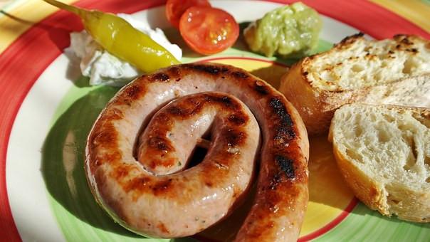 Pork Sausage Coil