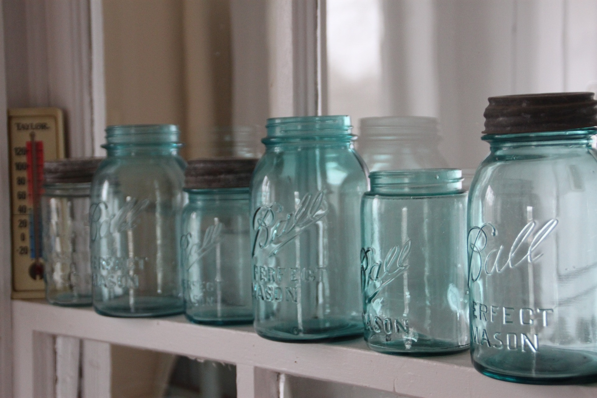 Glass Jar Deposit