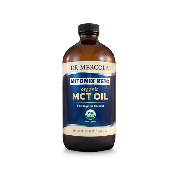 Organic MCT Oil - Mercola (16oz)