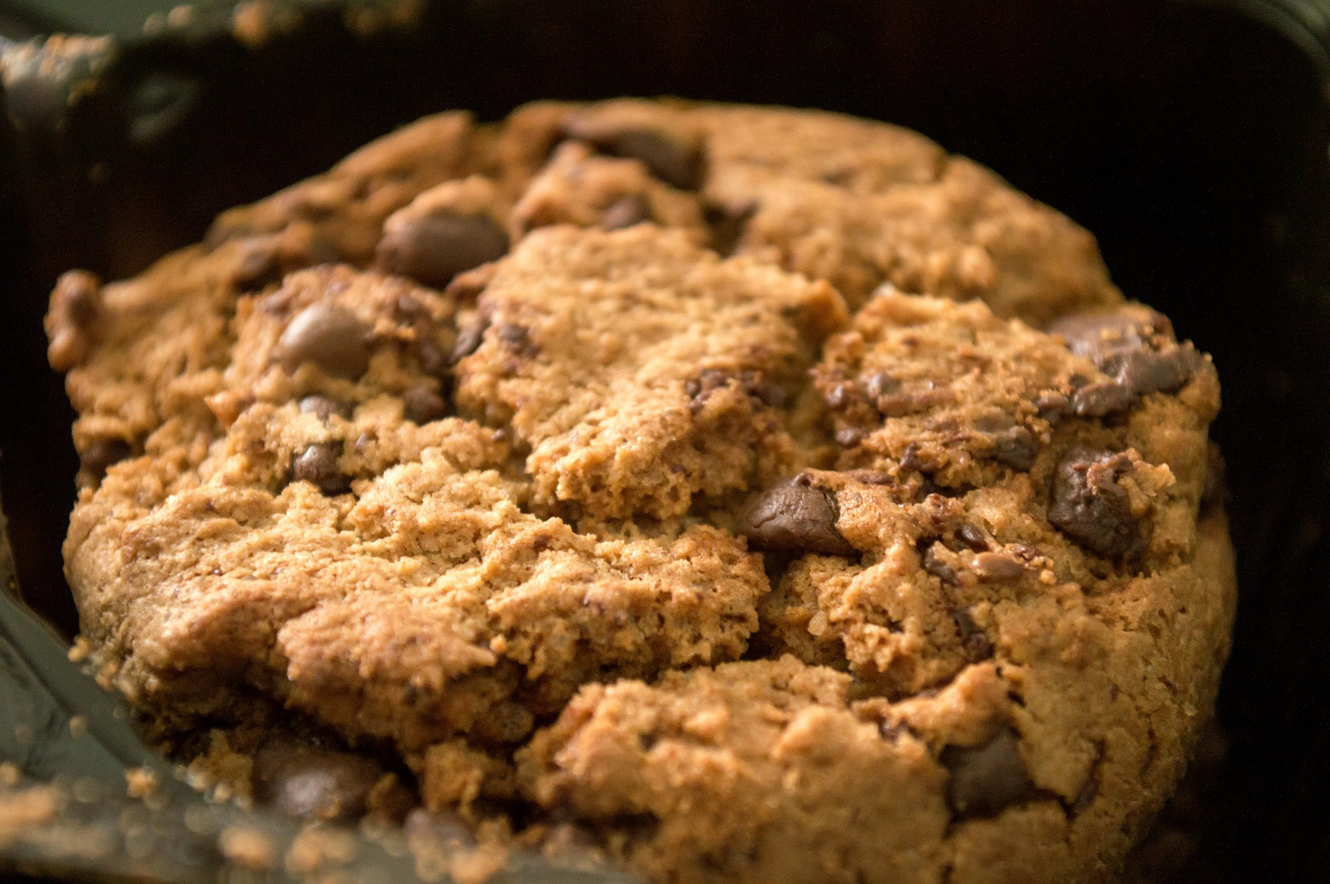 Crushed Spelt Chocolate Chip Cookies