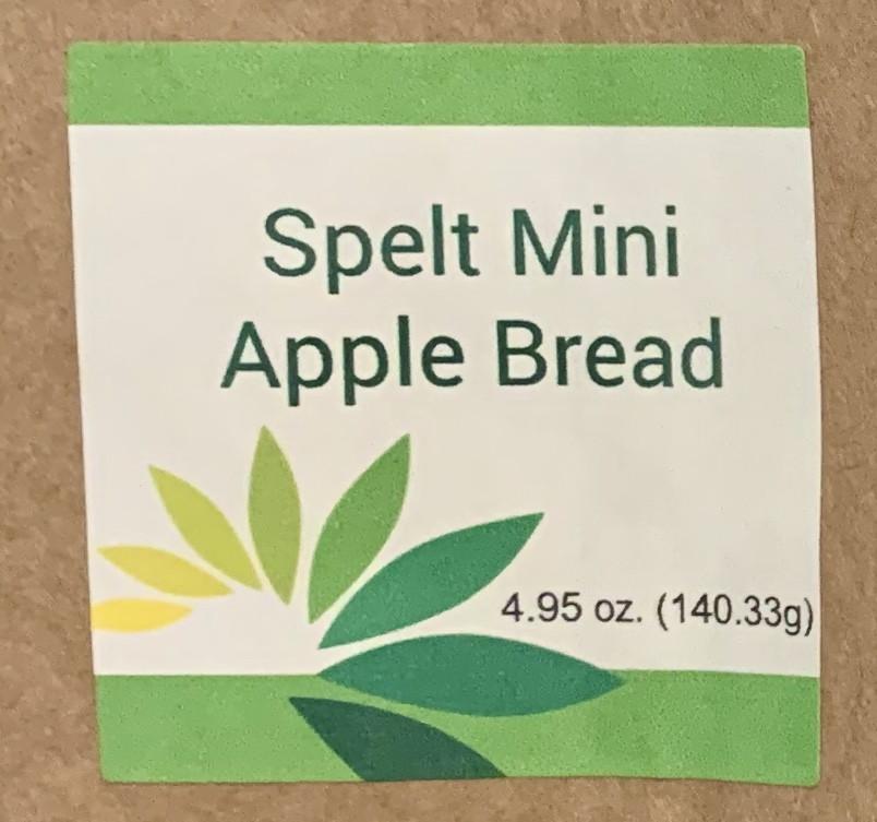 Spelt Mini Apple Bread