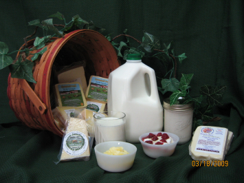 Raw Jersey Milk - Gallon Plastic