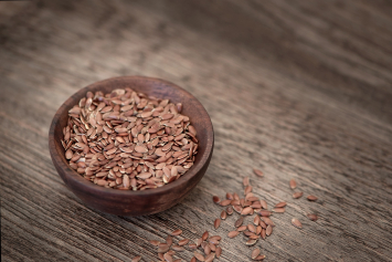 Crushed Flax Seed