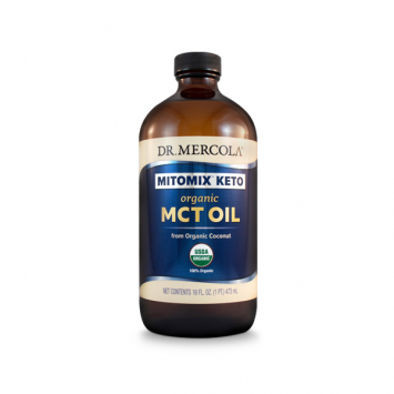Organic MCT Oil - Mercola (16oz)